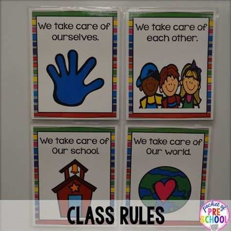 we care preschool class we take care of ourselves each other our 400