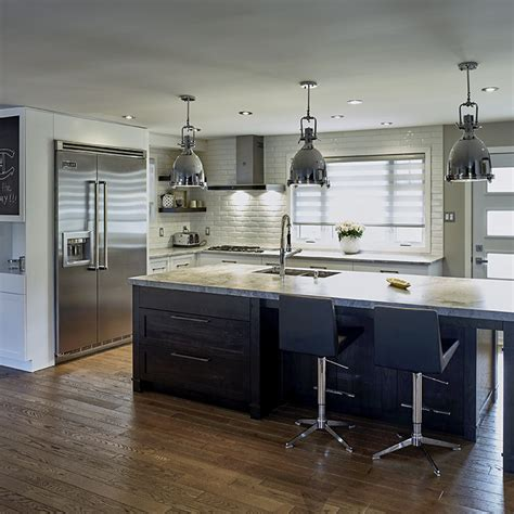 cuisine contemporaine grise davaus cuisine contemporaine grise et bois avec