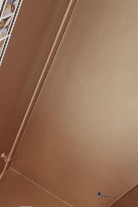 d 233 coration murale effet m 233 tal peinture cuivre