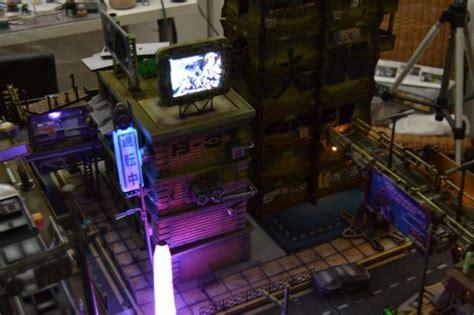 cyberpunk table  ram wargaming terrain cyberpunk