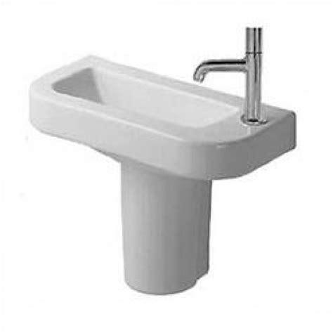Duravit Caro Pedestal Sink by Duravit Happy D Semi Pedestal Bathroom Sink D14019