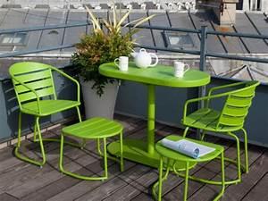 Table Pour Petit Balcon : petit balcon 10 am nagements gain de place ~ Melissatoandfro.com Idées de Décoration