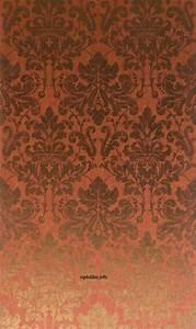 luxus tapeten omexco palazzo im klassischem barock stil With markise balkon mit retro tapete rot