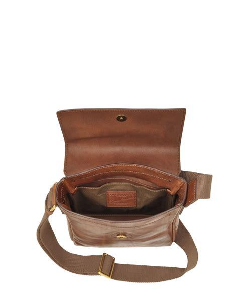 the bridge sfoderata marrone s crossbody bag in brown for lyst