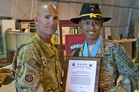 82nd Combat Aviation Brigade Inducts Non-commissioned