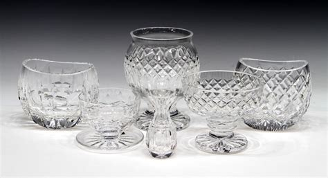waterford crystal table ls 6 collection of waterford crystal table items special