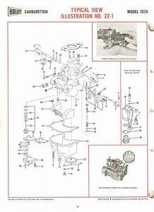 Holley 1970 Exploded Diagrams