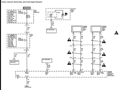 Air Bag Wiring Diagram by I M Getting A Service Air Bag Indication On A 2005
