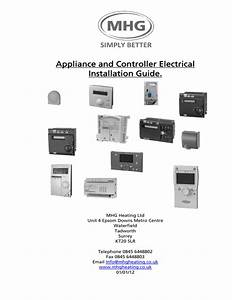 Appliance And Controller Electrical Installation Guide