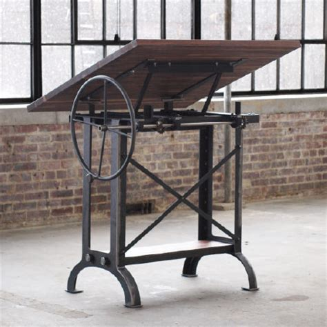 industrial stand up desk cos iron works modern iron industrial desks standup