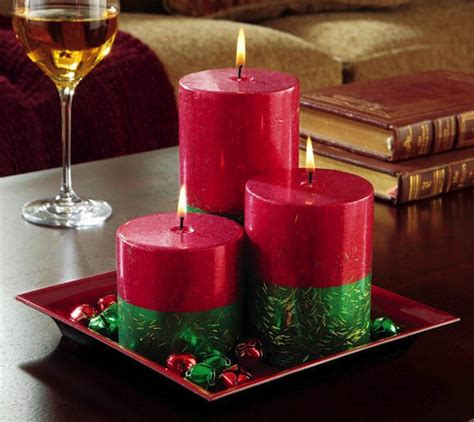 candles for christmas table top christmas candle decorations ideas christmas