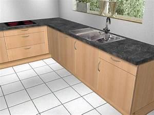 U kuche alno front buche begehbarer eck schrank rondell for Küche buche