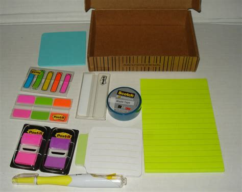 Office Supplies Tabs by 3m Post It Kit 686 Okit Tabs Arrow Flag Sticky Notes Pad