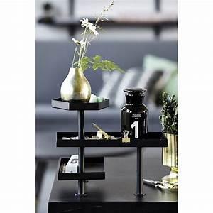 Bureau Metal Noir : house doctor desk table de bureau design epure metal noir pj0300 ~ Teatrodelosmanantiales.com Idées de Décoration