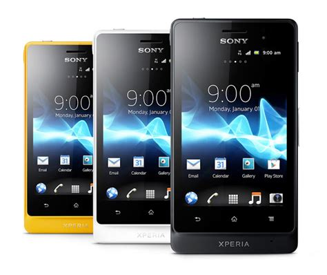 types of android phones types of sony phones