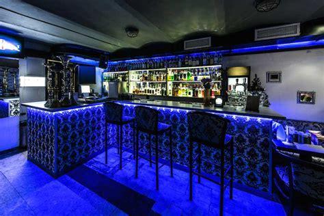 blue light bar bright blue bar lighting