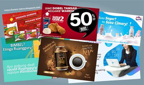 contoh iklan bahasa jawa beserta gambarnya tentang produk