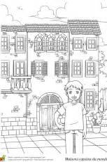 Maison Japonaise Dessin : coloriage maison monde japonaise sur ~ Melissatoandfro.com Idées de Décoration