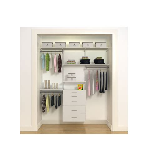 freedomrail closet style c in pre designed