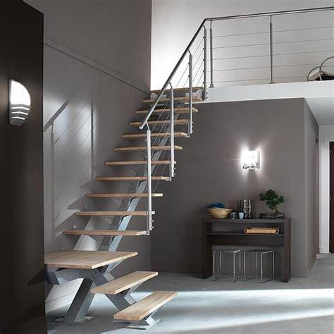 escalier 1 quart tournant m 233 tal lapeyre