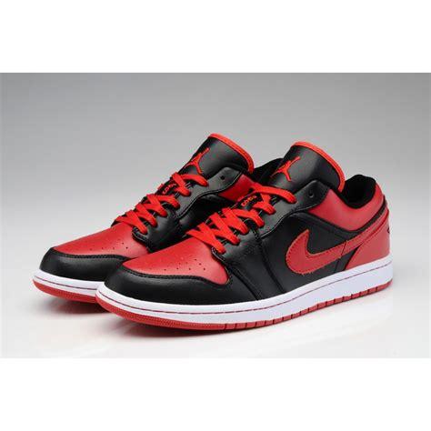 Air Jordan 1 Low Aaa High Quality Black Red Price 73
