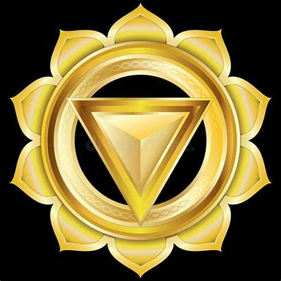 Chakra Hindu Medallion Jewel Manipura Emblem Icon