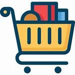 Shopping Icon Cart Icons Basket Trolley Retail