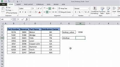 Excel Vlookup Lookup Guide Value Table Array