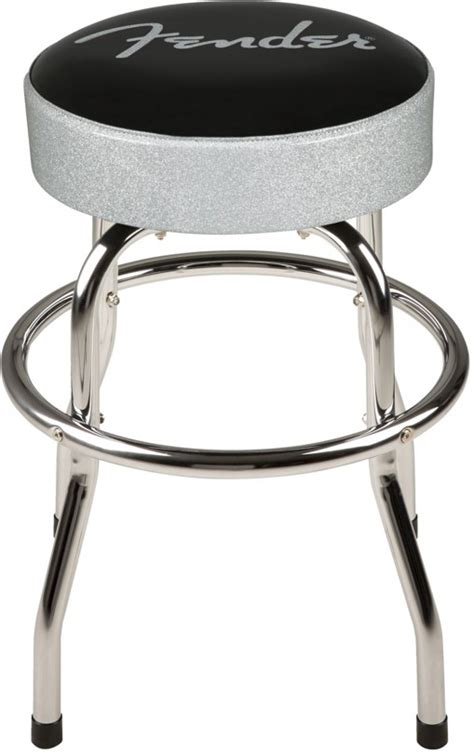 Fender Guitar Stools Class Axe Guitars Fender Silver Sparkle Bar Stool