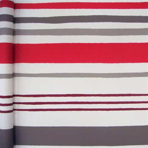 papier peint quot rayure quot coloris taupe et rouge tous les