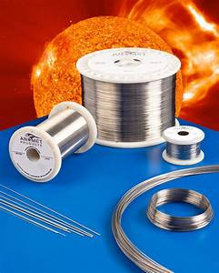 New Anomet Platinum Clad Molybdenum Wire Resists Corrosion