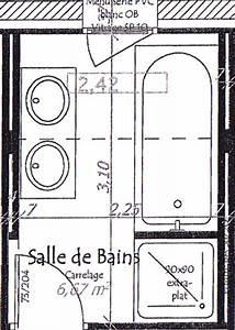charmant plan salle de bain douche italienne 9 chartres With plan salle de bain douche italienne