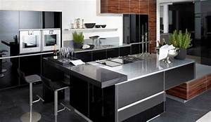cuisiniste la cuisine ouverte se fait belle cote maison With superior tendance couleur peinture salon 4 cuisines contemporaine americaine cuisines cuisiniste