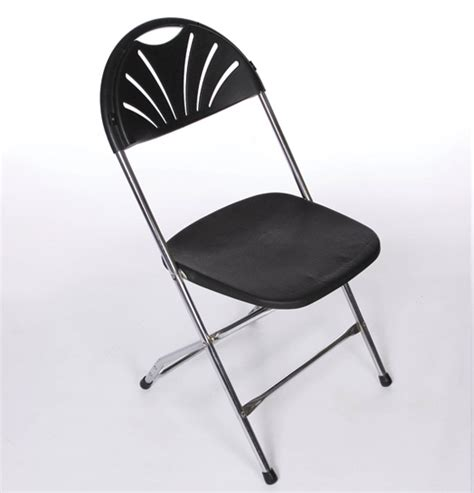 black millennium folding chairs united rent all omaha