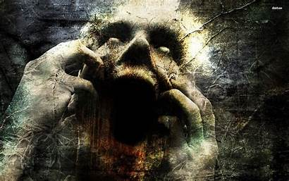 Scary Backgrounds Horror Dark Gothic Evil Face