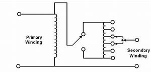 Schematic Diagram Of A Voltage Regulating Transformer