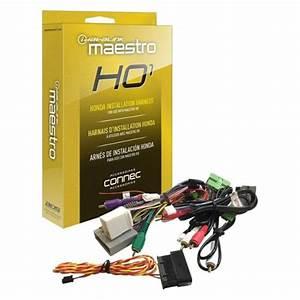 Idatalink Maestro Ho1 Plug  U0026 Play T-harness Black Hrn-rr-ho1