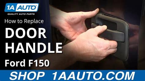 install replace rear  door handle