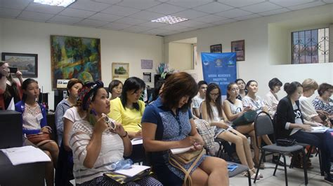kazakh women entrepreneurs work  develop leadership skills