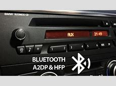 BMW bluetooth install for Business CD radio AUX, A2DP