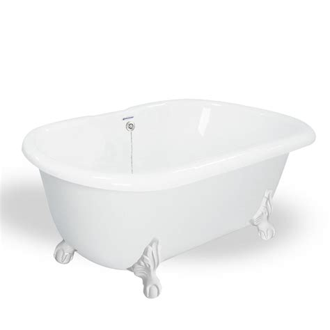 Factory Tubs by American Bath Factory 70 In Acrastone Clawfoot Non