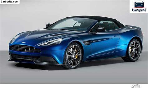 Aston Martin Vanquish Volante 2017 Prices And