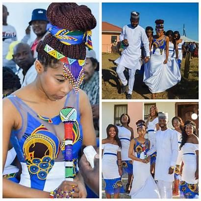 Xhosa Traditional Lobola Attire Bride Nigerian Groom