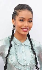 Hairstyles Yara Shahidi Braided Hairstyle