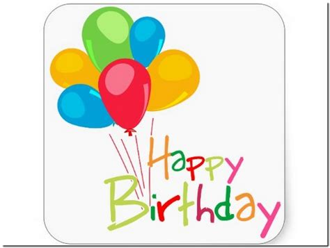 happy birthday stickers free download