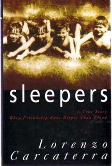sleepers  lorenzo carcaterra reviews discussion