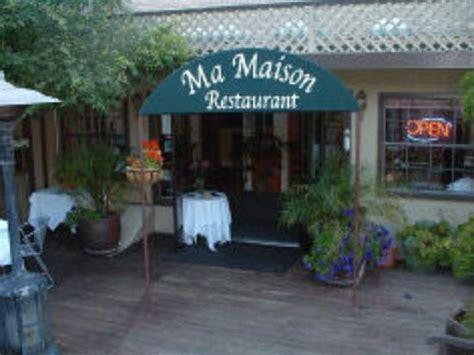 restaurant ma cuisine ma maison restaurant aptos menu prices restaurant