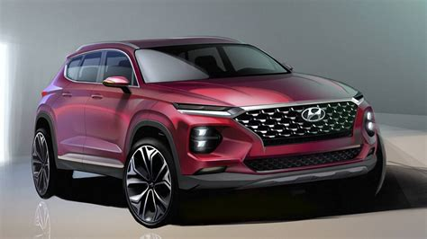 Official Design Sketches Preview Good-looking 2019 Hyundai