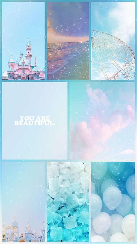 baby blue iphone wallpaper in 2020 baby blue wallpaper