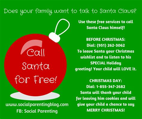 santa s real phone number call santa claus for free santa s telephone number